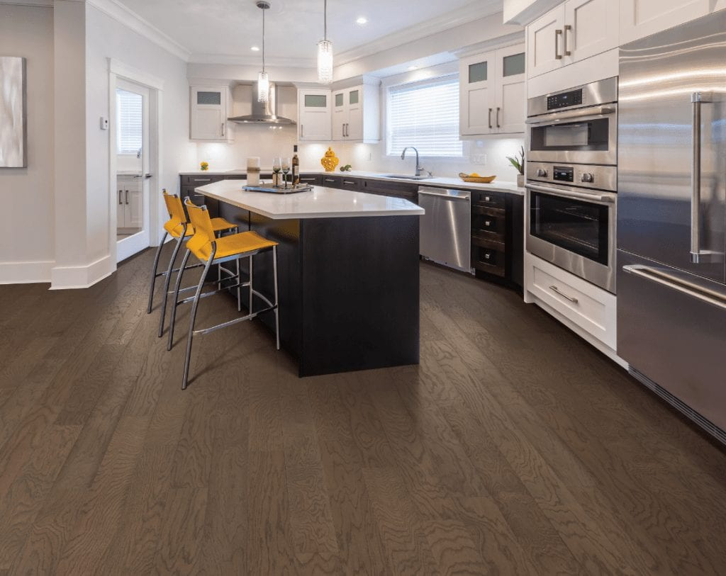 Hardwood floor of Kitchen | Choice Floor Center, Inc.