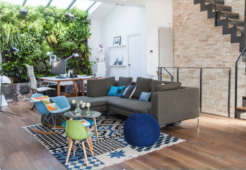 Living room walls | Choice Floor Center, Inc.