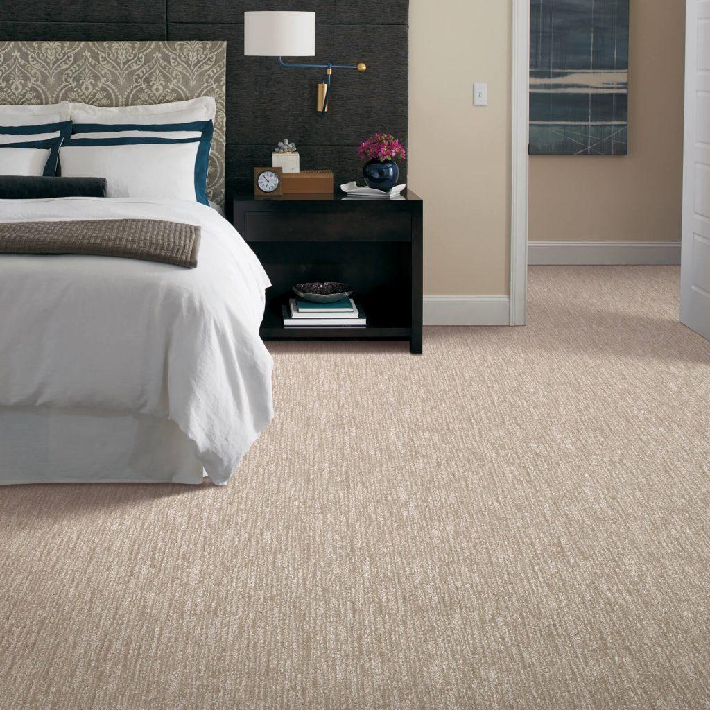 New carpet in bedroom | Choice Floor Center, Inc.